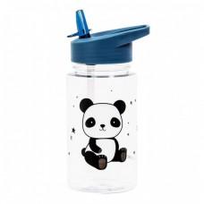 A little lovely company - Steklenička s slamico Panda