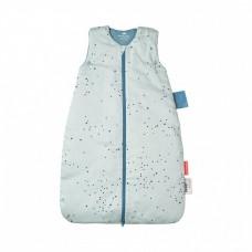 Done by deer -  Spalna vreča Modra s pikicami, 70 cm