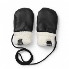 Zimske rokavičke Aviator Black (0-12 mesecev) - Elodie