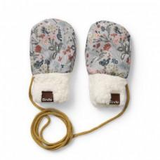 Zimske rokavičke  Vintage Flower  (0 -12 mesecev) - Elodie