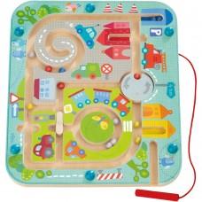 Haba - Magnetna igra Mestni labirint