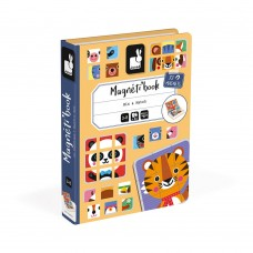 Janod - Magnetna knjiga Mix & Match
