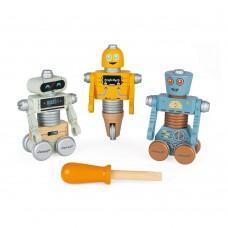 Janod - Ustvarjalna igrača Brico's Kids Sestavi svojega robota