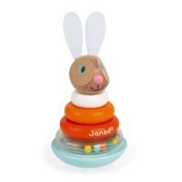 Janod - Lesena natikanka zajček