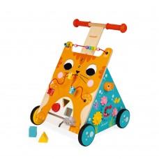 Janod - Lesen multi-aktivnostni voziček za učenje hoje