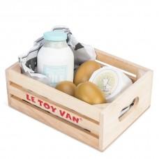 Le toy Van - Lesen zabojček z jajci, mlekom in sirom