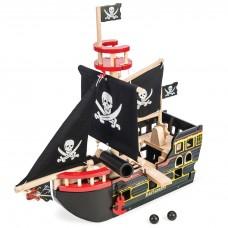 Le Toy Van - Lesena gusarska ladja Barbarossa