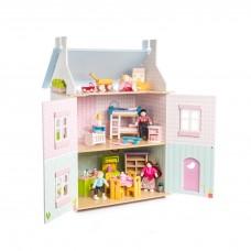 Le Toy Van - Lesena hiška Blue Bird