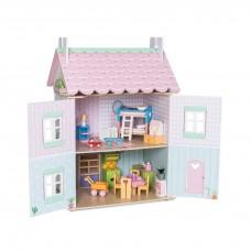 Le Toy Van - Lesena hiška za punčke Sweetheart