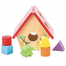Le Toy Van - Lesena vstavljanka Ptičja hiška