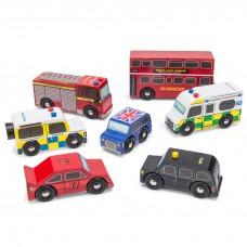 Le Toy Van - Set londonskih vozil