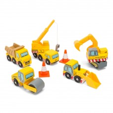 Le Toy Van - Set gradbenih vozil