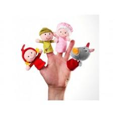 Lilliputiens - Prstne lutke Rdeča kapica