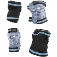 Micro - Ščitniki za komolce in kolena modri S