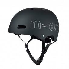 Micro - Večja otroška čelada PC Črna M (54-58 cm)