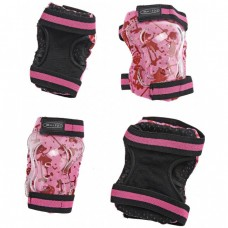 Micro - Ščitniki za komolce in kolena roza S