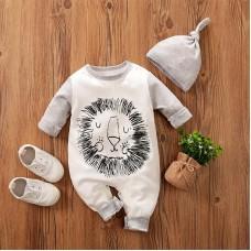Otroški pajac+kapica Levček ( 3-6 mesecev)