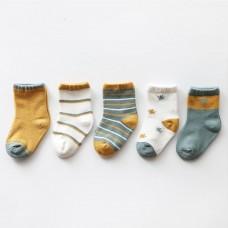 Set 5 otroških nogavičk Ingver (0-12 mesecev)