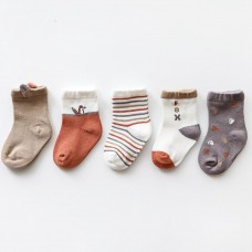 Set 5 otroških nogavičk Lisička ( 1-3 leta)