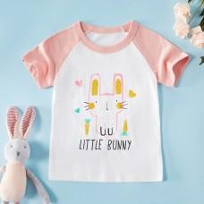 Poletje - Otroška majica s kratkimi rokavi Mali zajček (2-3 leta)