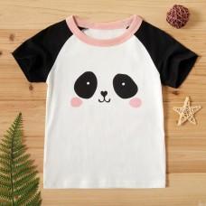 Poletje - Otroška majica s kratkimi rokavi Panda (2-3 leta)