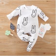 Otroški pajac Zajčki (3-6 mesecev)