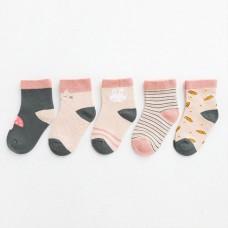 Set 5 otroških nogavičk Gobica (1-3 leta)