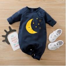 Otroški pajac Luna in zvezdice (6-9 mesecev)