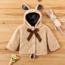 Dekliška jakna z mašnico (2-3 leta)