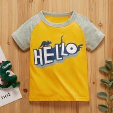 Poletje - Otroška majica s kratkimi rokavi Hello dino (2-3 leta)