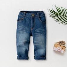 Otroške hlače iz jeansa (2 leti)