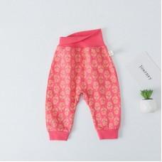 Otroške hlače, živo roza (6-9 mesecev)