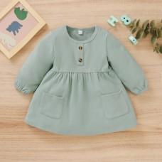 Otroška oblekica zelena (12-18 mesecev)