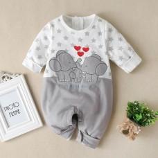 Otroški pajac Slončki (6-9 mesecev)