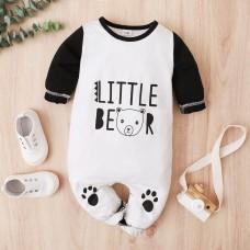 Otroški pajac Mali medvedek (3-6 mesecev)