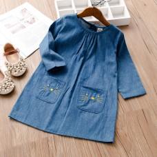Dekliška oblekica Muca (2-3 leta)