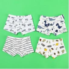 Set 4 fantovskih spodnjih hlač Dinozavri (3 leta)