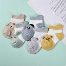 Set 5 otroških nogavičk Živali