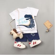 Otroški komplet majica+hlače Dinozaver