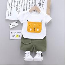 Otroški komplet majica+hlače Kuža Bel