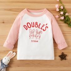 Majica dolg rokav Nagajiva zajčka (2-3 leta)