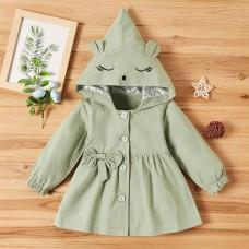 Dekliška jakna sivo zelena (3 leta)