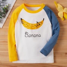 Majica dolg rokav Zabavna banana (2-3 leta)