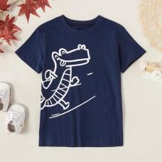 Poletje - Otroška majica s kratkimi rokavi Krokodil