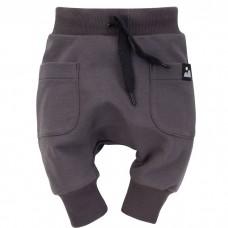 Pinokio - Otroške baggy hlače Dreamer Grafit