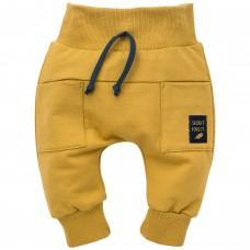 Pinokio - Otroške baggy hlače Secret forest Curry