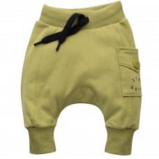 Pinokio - Otroške baggy hlače Stay green