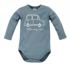 Pinokio - Bodi dolg rokav Little car