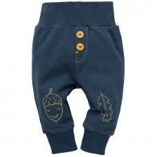 Pinokio - Otroške hlače Secret forest modre