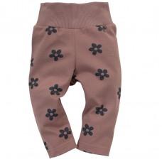 Pinokio - Otroške hlače legice Happiness Rožice